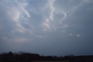月曜日の空。
