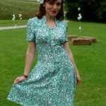 Jasmine Green Tea Dress