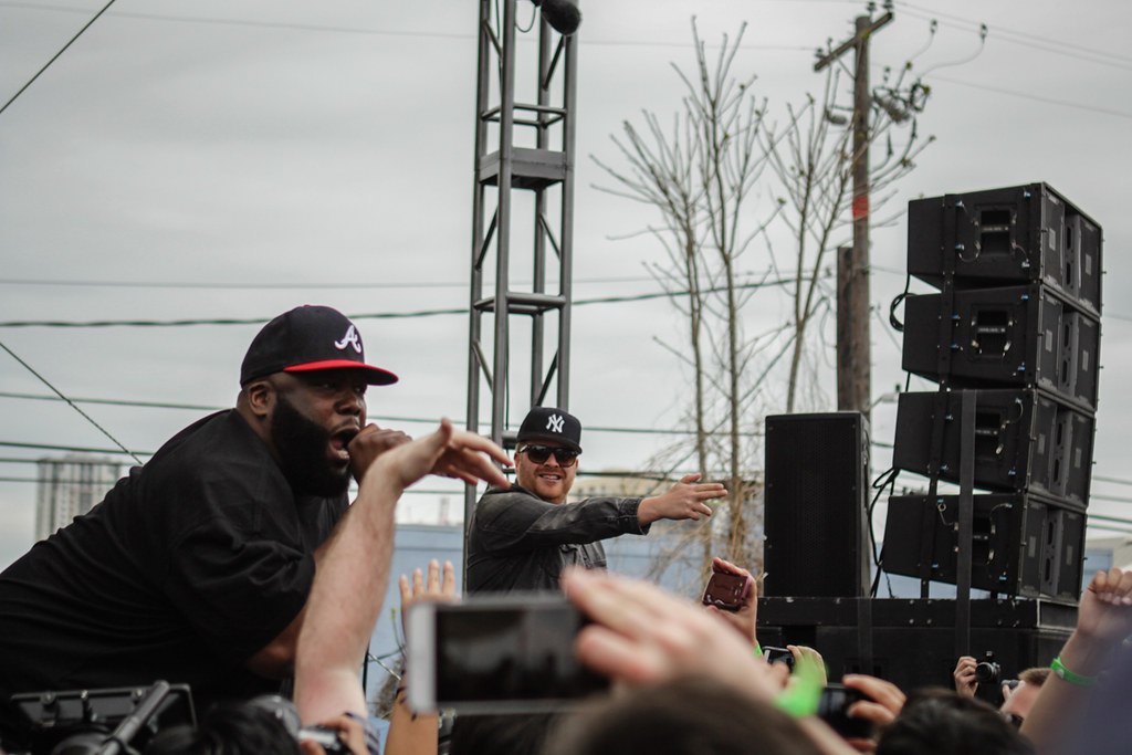 Run The Jewels @ Spotify House 3.16.15