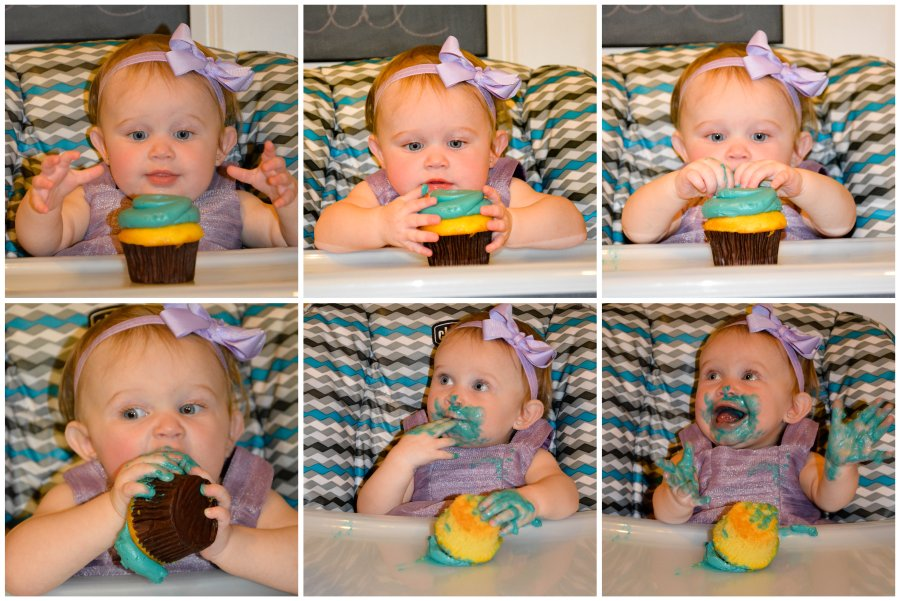 cupcake excitement