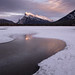 Mount Rundle III by Sandra Herber