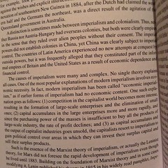 Readings on #EconomicImperialism / #ModernImperialism are some of my favorite!  #allnighter #historian #globalhistory #globalstudies #globalization #history #reader #OneOfTheseDaysIdStartWritingMyIdeasOnTheseTopics #foodforthought