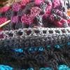 Still working on my winter couch throw :) #crochet #scraps