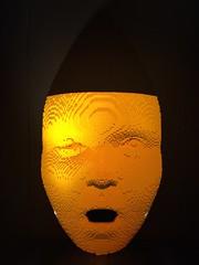 orange, light fixture, yellow, light, amber, lighting,