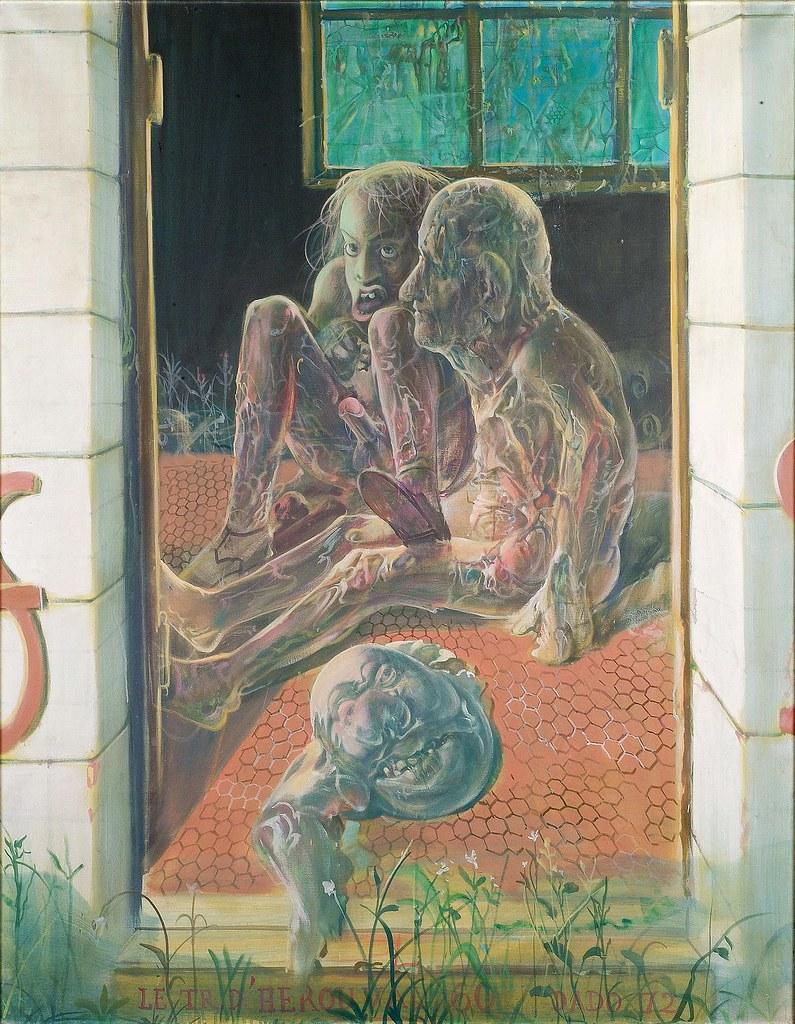 Dado - Hérouval Triptych (middle panel), 1972