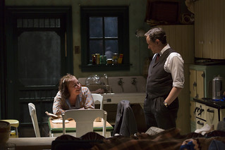 Adrianne Krstansky and Derek Hasenstab in the Huntington Theatre Company's production of William Inge's COME BACK, LITTLE SHEBA, directed by David Cromer, playing March 27 – April 26, 2015, South End / Calderwood Pavilion at the BCA. Photo: T. Charles Erickson.