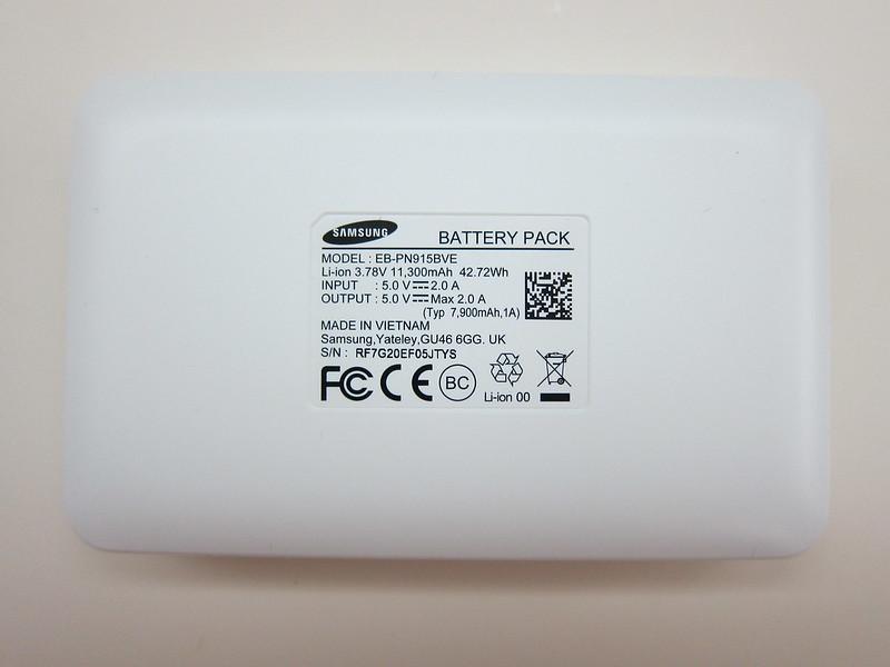 Samsung Animal Edition Battery Pack (11,300mAh) (Golden Monkey) - Back