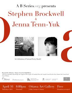 BROCKWELL & TENN-YUK - A B Series Celebrates National Poetry Month!