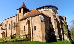 Ancienne abbaye de Saint Sever de Rustan.