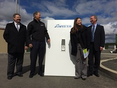Flipping the switch on the battery created by a partnership between Avista Utilities, PNNL and UniEnergy Technologies
