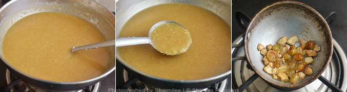 How to make Arisi Thengai Payasam - Step4