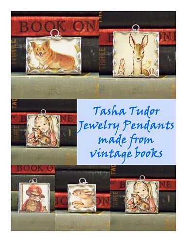 Tasha Tudor Pendants