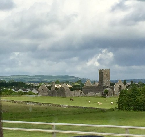 View from the bus in Ennis, Clare, Ireland