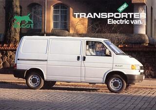 1995 Elcat Transporter Electric Van (Finland)