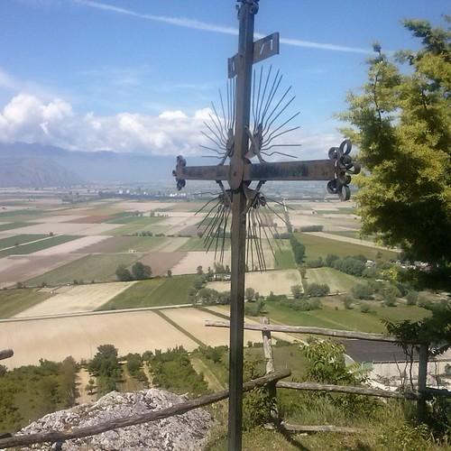 #croce #sentiero chiesa del buon #consiglio #Marsica