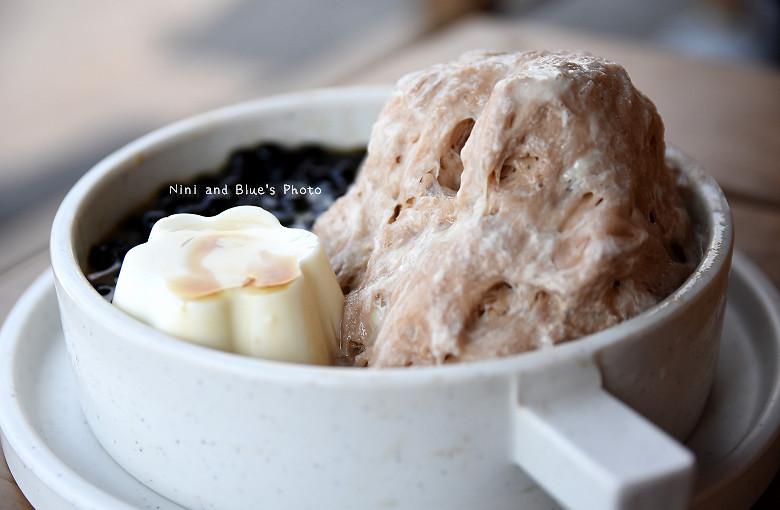 台中一中街霜府美食冰品小吃豆花仙草雪花冰抹茶珍奶30