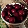 Life is just a bowl of #sweetbingcherries! #lovesummertime, #freshcherries ,#freshcherries:cherries: , #yummy!