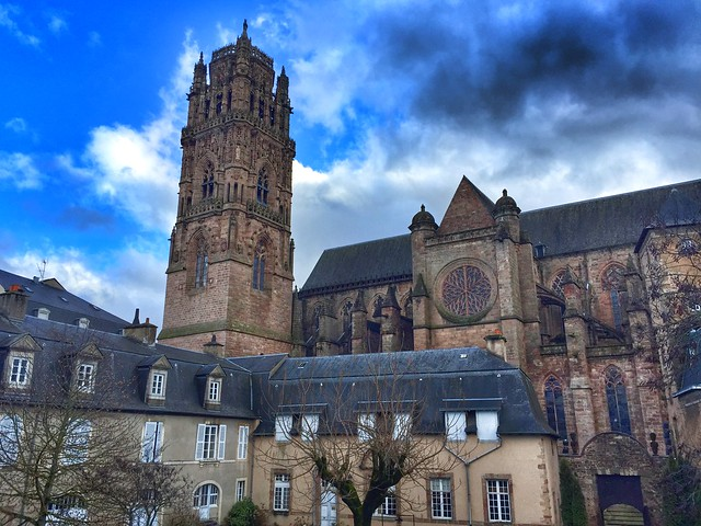 Catedral de Rodez (Aveyron, Francia)