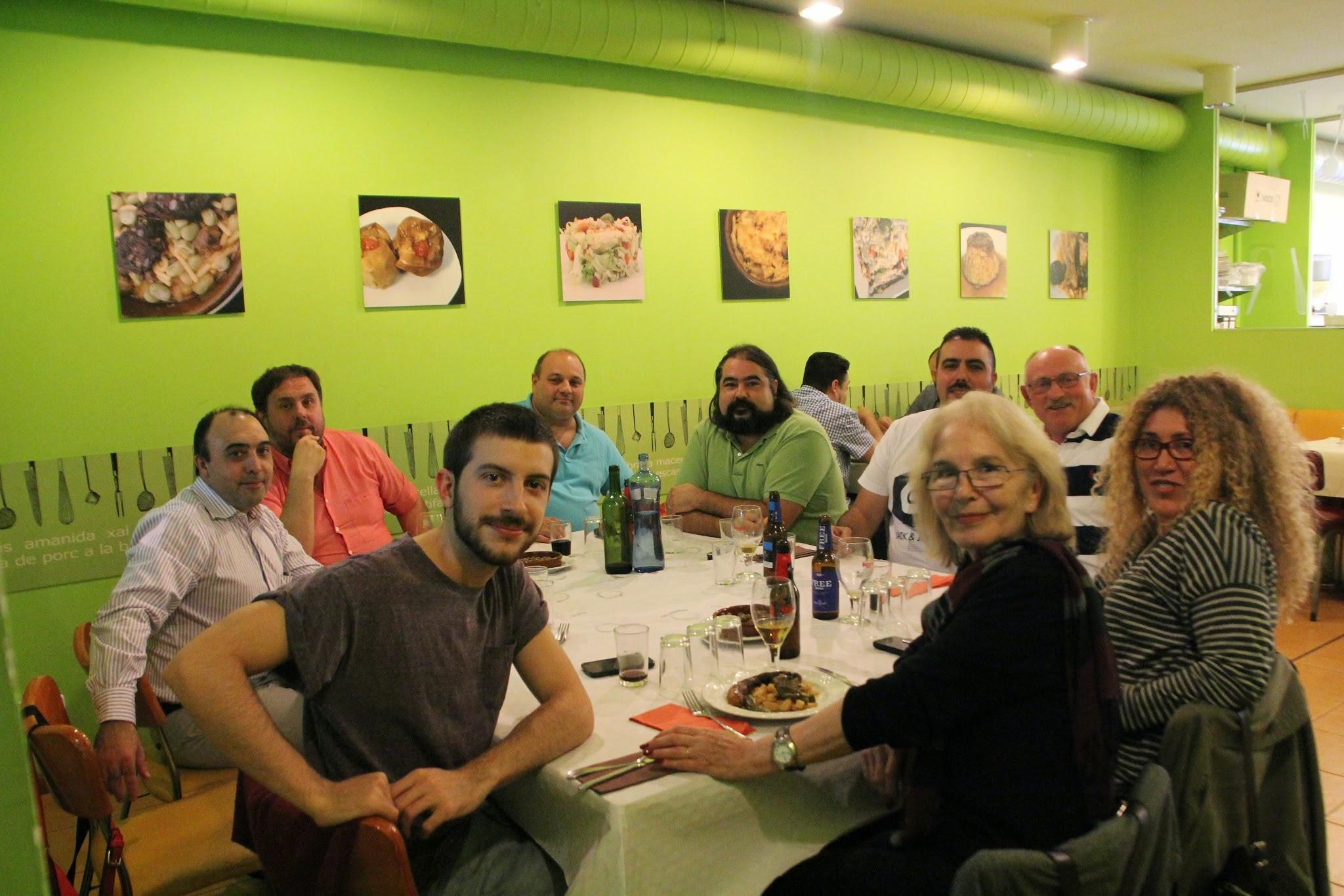 Visita d'Eugenia Parejo a SVH