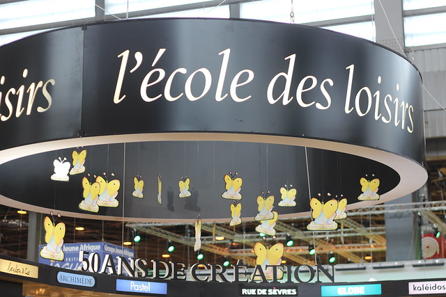 L'école des loisirs - Salon du Livre de Paris 2015