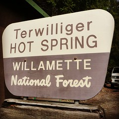 Visit me at Cougar Hot Springs, aka Terwilliger. There have been #Cougar and #Bear sightings.  I manage this #Park