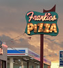 Frankie's Pizza sign