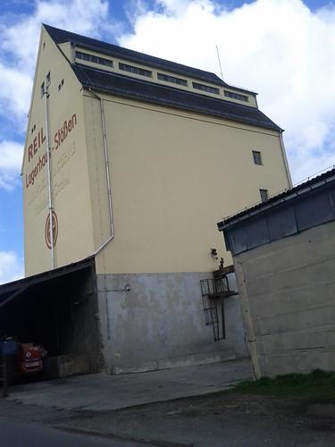 1938 Stößen Getreidespeicher Fa. Höltz Reußener Weg 4 in 06667