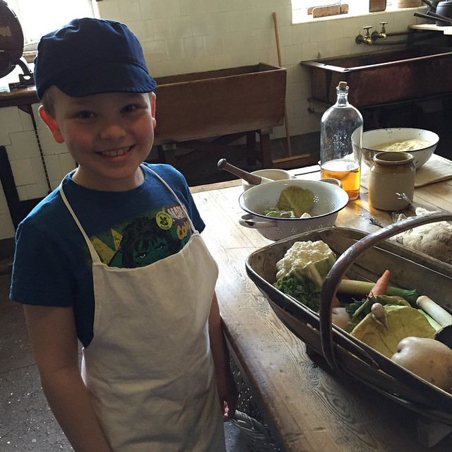 Scullery Boy at Petworth House