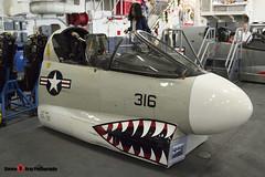 LTV A-7 Corsair II Cockpit - USS Midway Museum San Diego, California - 141223 - Steven Gray - IMG_6833