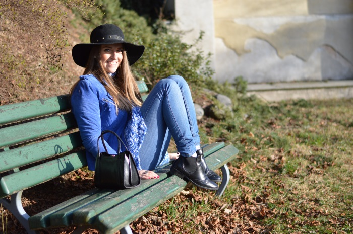 hat, blu elettrico, spring, wildflower girl, fashion, fashion blog (9)
