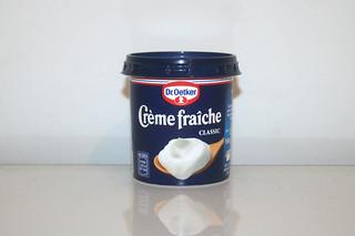 06 - Zutat Creme fraiche / Ingredient creme fraiche