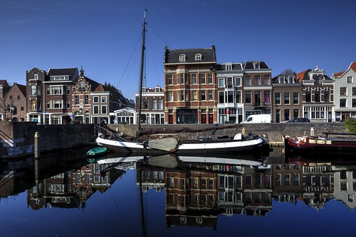 Historic Delfshaven - Reflection