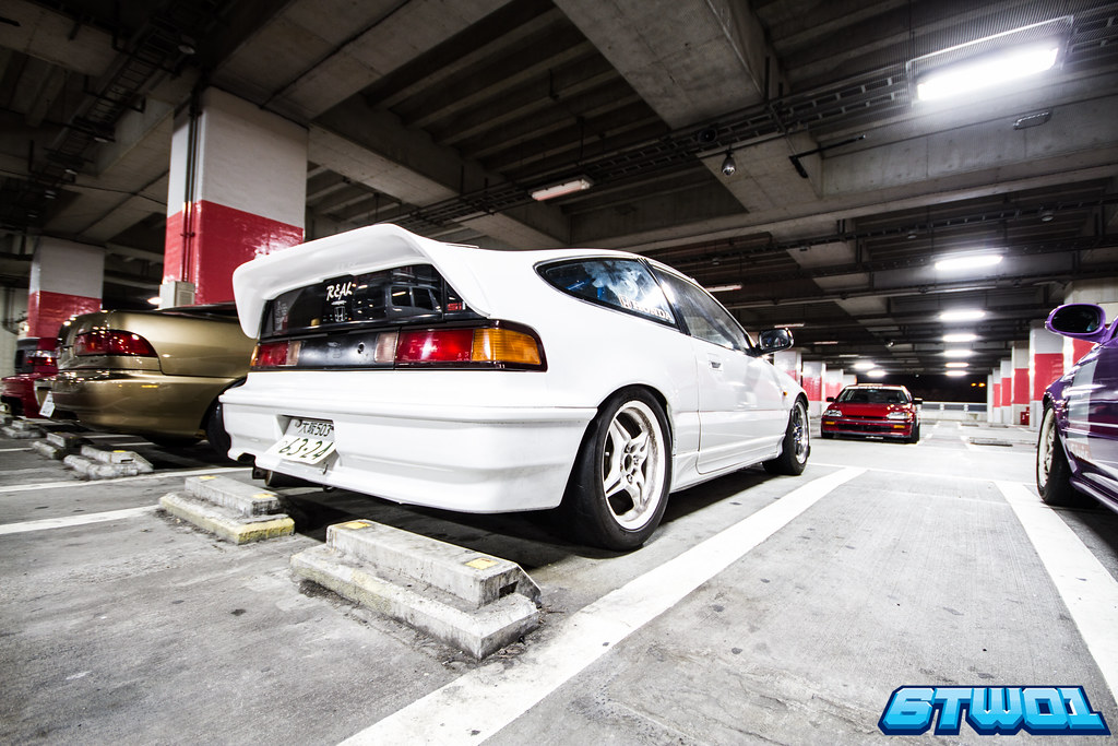 Rear of crx