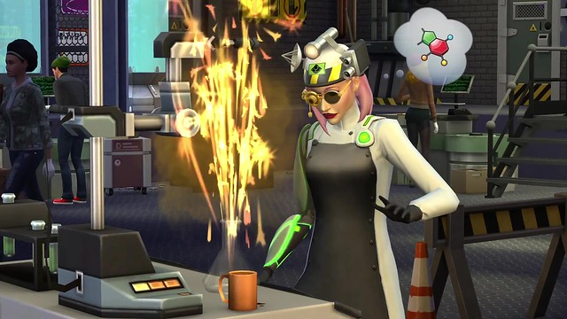 The Sims 4 Get to Work- Official Retail Gameplay Trailer 2880
