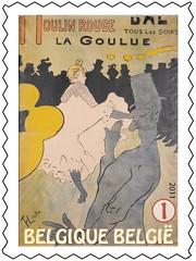 15 TOULOUSE LAUTREC timbrej