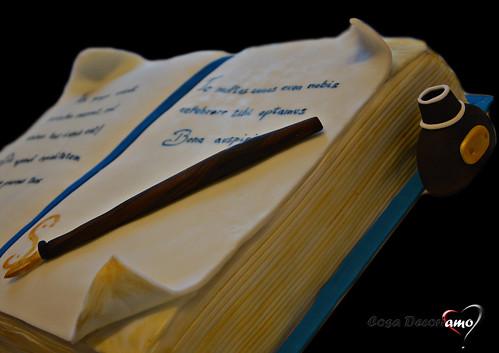 Torte - 88 - Torta Libro