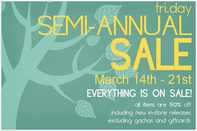 Fri.day Semi Annual Sale