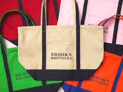 Brooks Brothers / Classic Logo Tote Bag