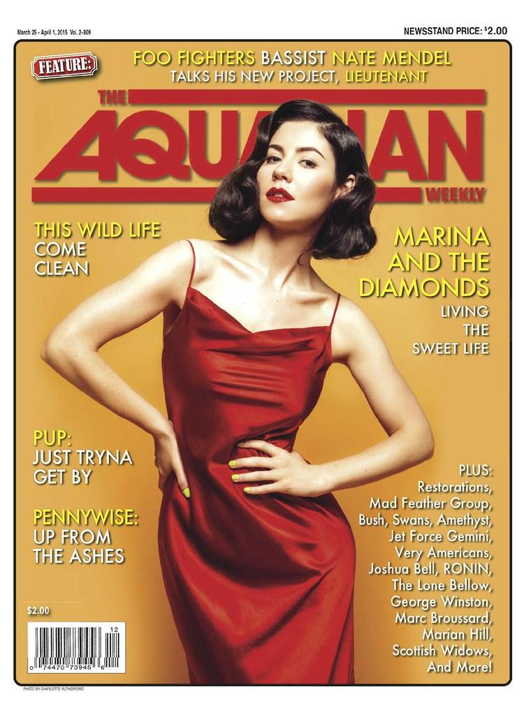 Marina and the Diamonds - The Aquarian Cover
