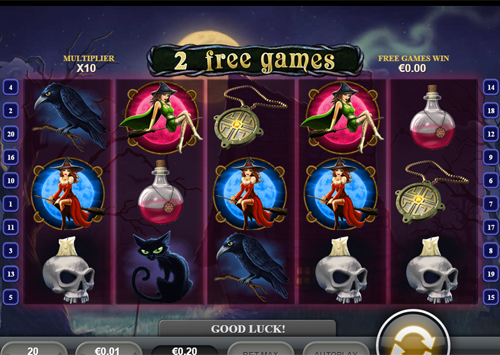 free Halloween Fortune Mobile free spins