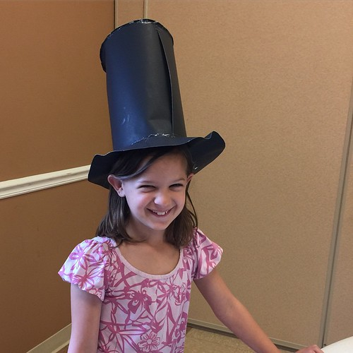 #itssimplytuesday and she was simply a delightful Lincoln! Presidential presentations today at CC!