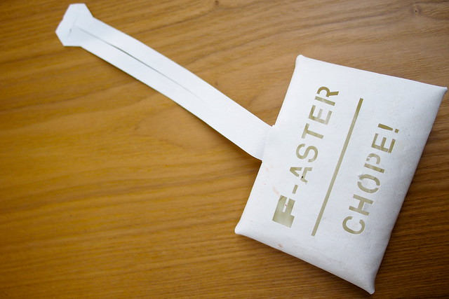 F-aster Chope! Tissue Holder, Make a F-ake by Freitag, Kapok, National Design Centre, Singapore Design Week