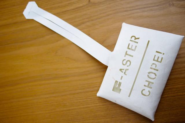 F-aster Chope! Tissue Holder, Make a F-ake by Freitag, Kapok, National Design Centre, Singapore Design Week