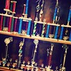 #Trophy case at St. Henry. #trophies #sports