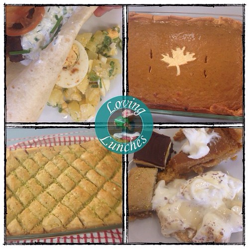 Loving today's lessons at Emerald Multicultural Connections… Turkish potato salad and beef kofta, Baclava and Canadian banana cream pie, pumpkin pie and 9-bars ��