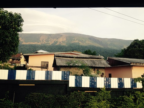 Mt. Cameroon as seen from Buea