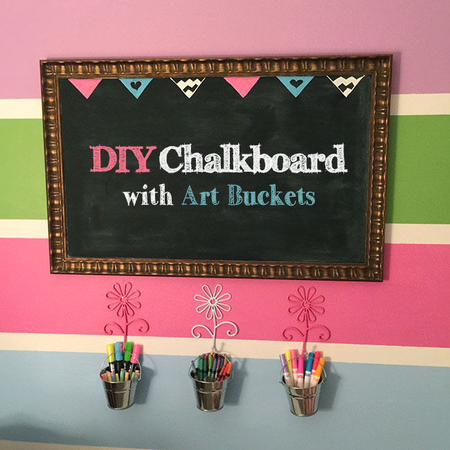 DIY-Chalkboard-with-Art-Buckets_650x650