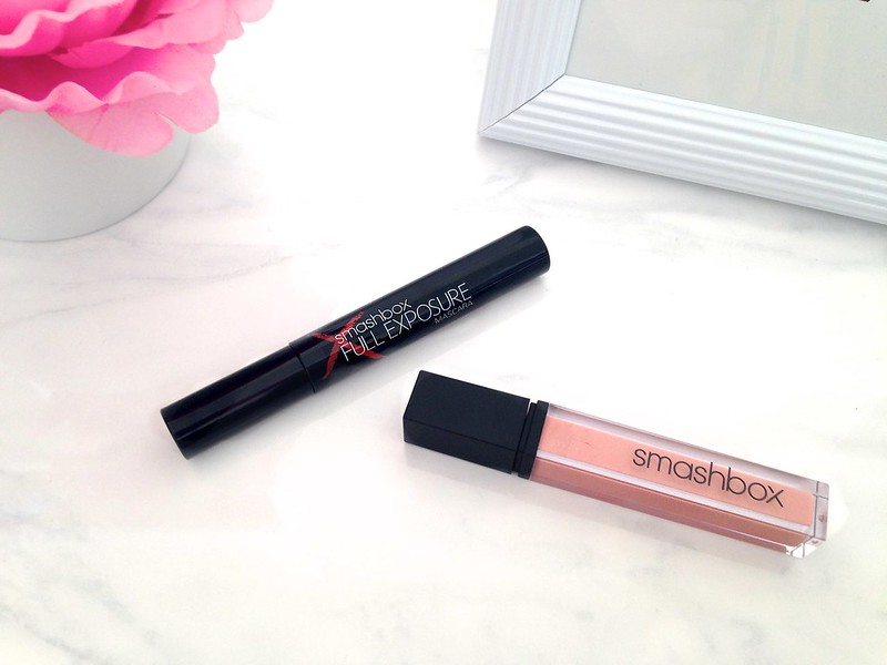 Smashbox Full Exposure Mascara and Smashbox Be Legendary Lip Gloss in Pink Lady