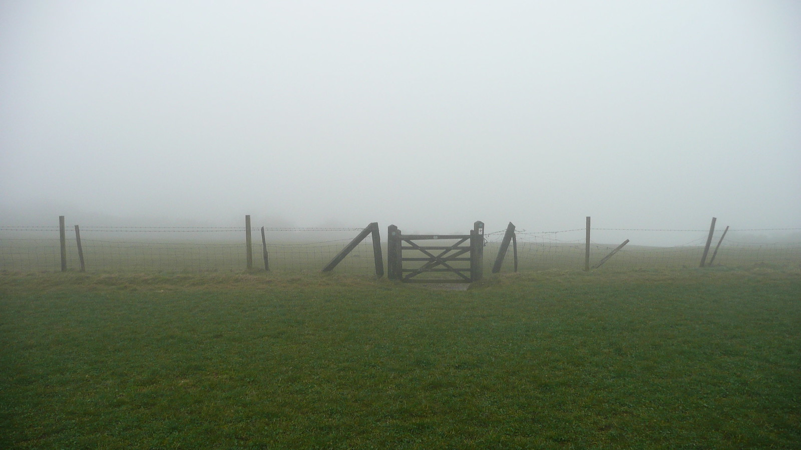 This view matches my view of the partial solar eclipse last week Views of the South Downs (28th March 2015, low cloud, gales)