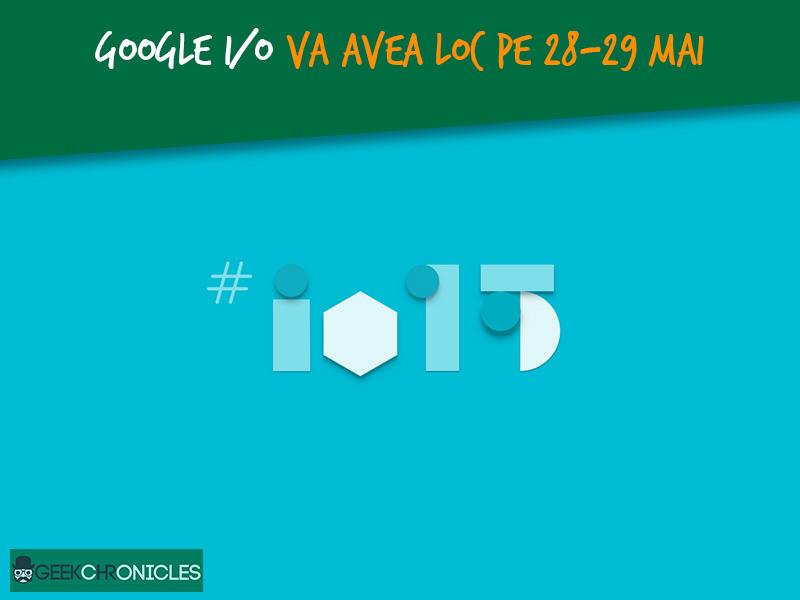 Conferinta Google I/O